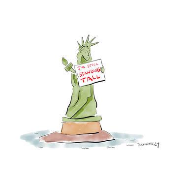 Lady Liberty Standing