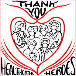 """Coronavirus-Healthcare Heroes"""