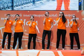 """""""Акварельки"""" на встрече волонтеров с Главой города."""