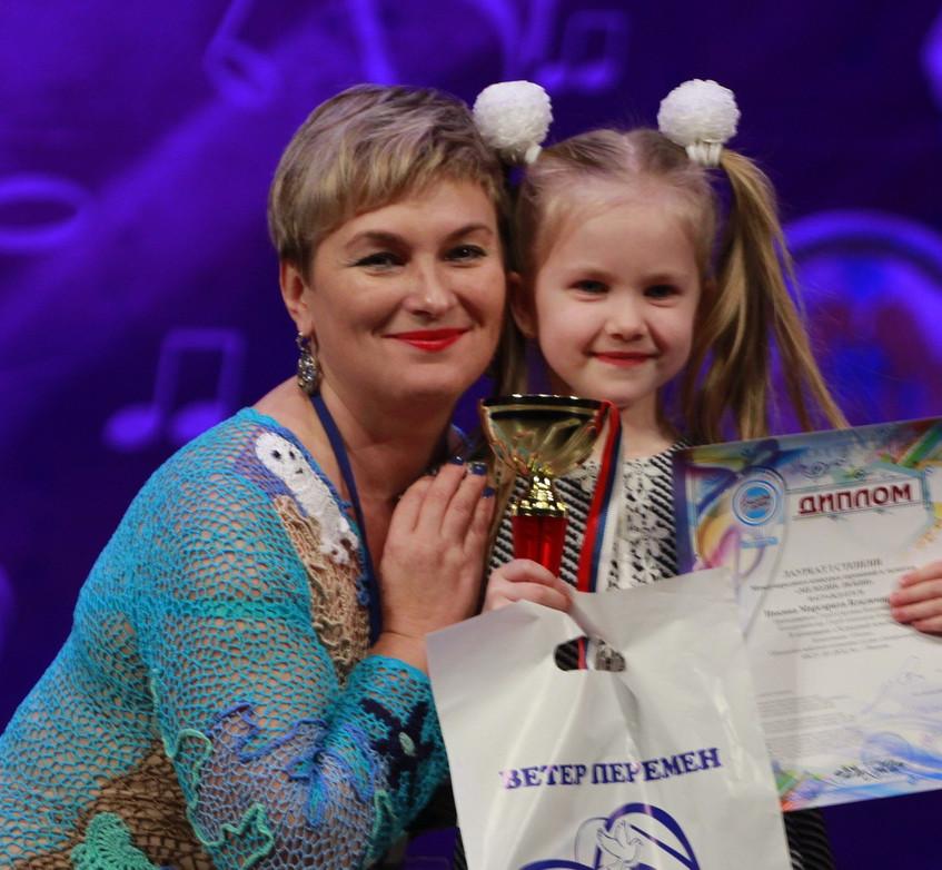 Ивкина Рита Лауреат 1 степени