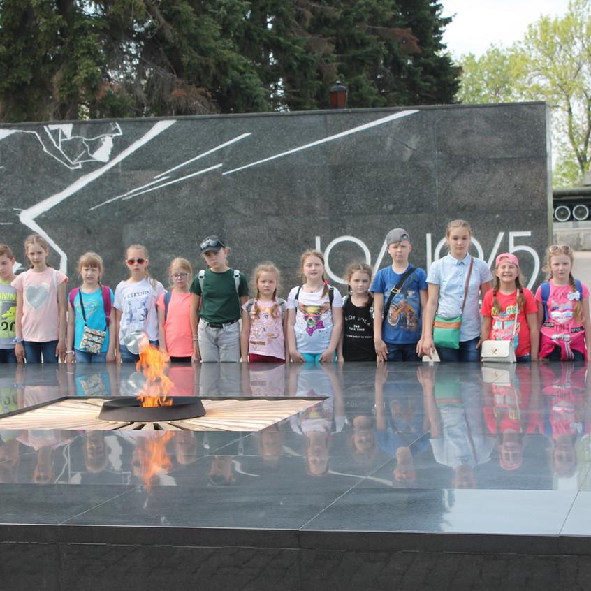 Вечный огонь в Нижегородском Кремле