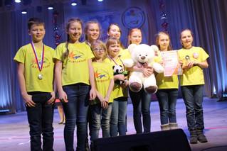 Акварельки на Международном конкурсе «Парад планет» в городе Твери.