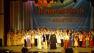"«Акварельки» на фестивале ""Ковчег"" в Воронеже."