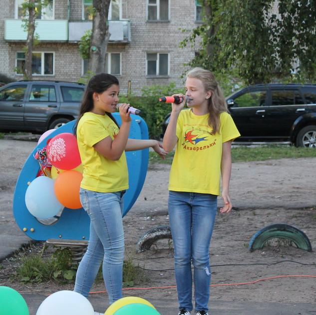 Аня и Полина
