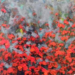 Rojo-Floral-IV