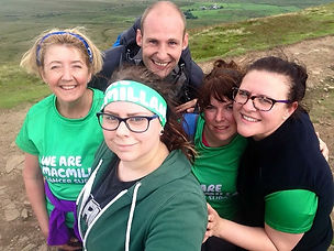All for a good cause. 3 peaks for macmil