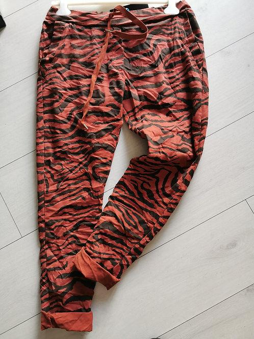 Pantalon zèbre