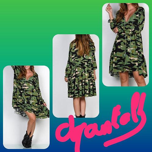 Robe camouflage Chantalb