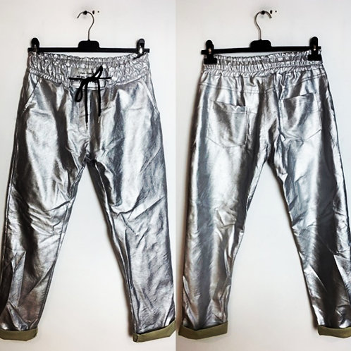 Pantalon argent