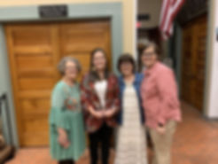 2019 Morton Museum of Cooke County Volunteer of the Year - Amanda Taylor.