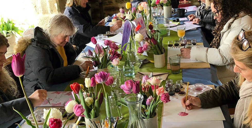 Pick & Paint Workshop with afternoon tea - Thurs, June 24, 1:00pm - 4:00pm-