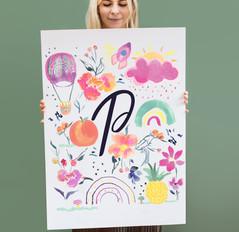 Bespoke P for Penny's Nursery