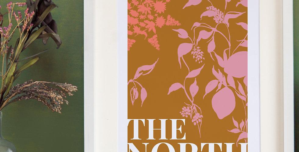 The North Print - Burnt Orange