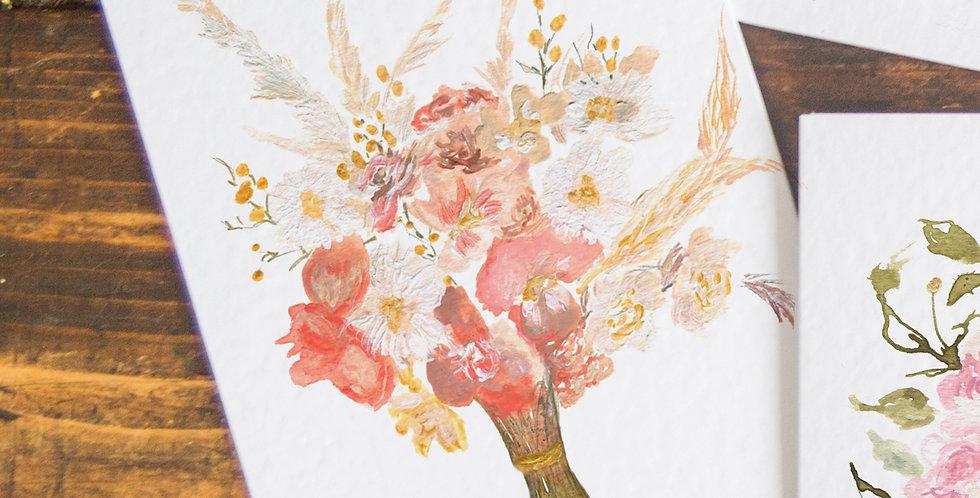The Rosie - Pampass Bouquet