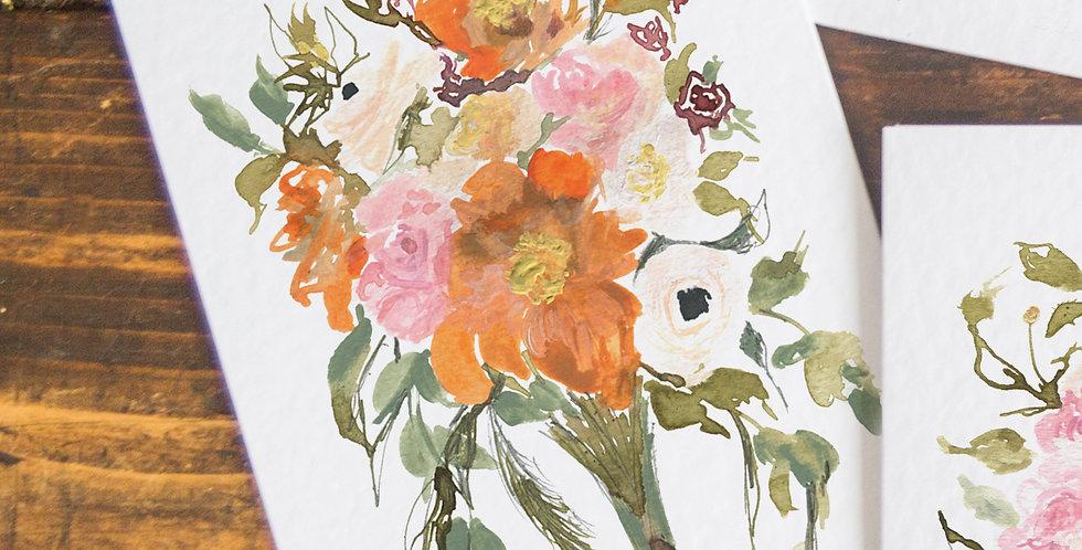 Verity -  Wild Roses bouquet
