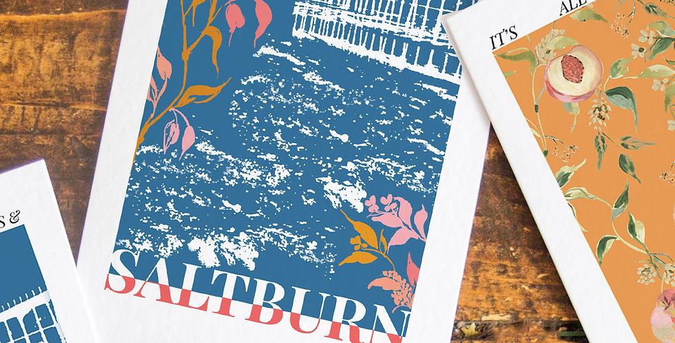 Saltburn Postcard