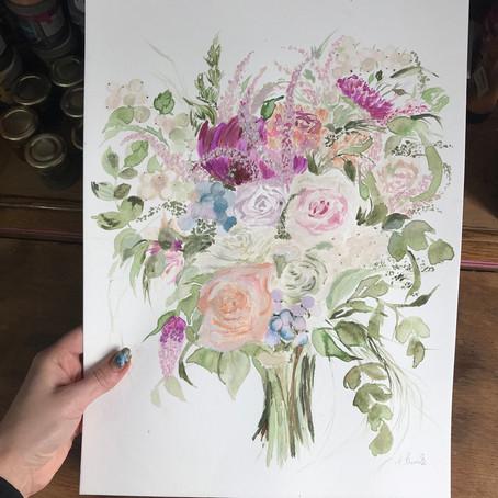 Lauren's Wedding Bouquet