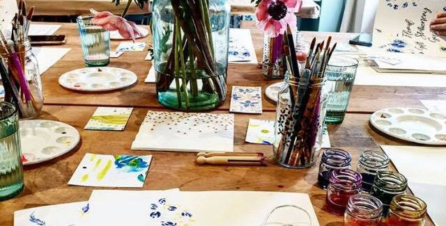 Floral Gift Stationery, Thurs 17th June, 6:30-8:30pm