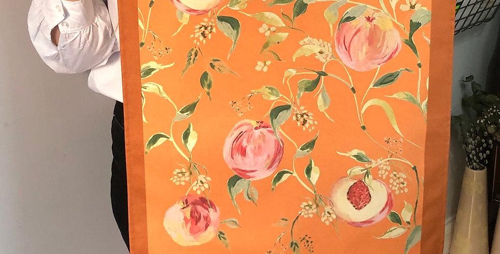 'It's All Peachy'  Tea Towel