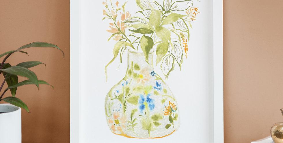 Peace - Vase Print