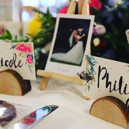 Nicole & Philip's Bespoke Wedding Stationery