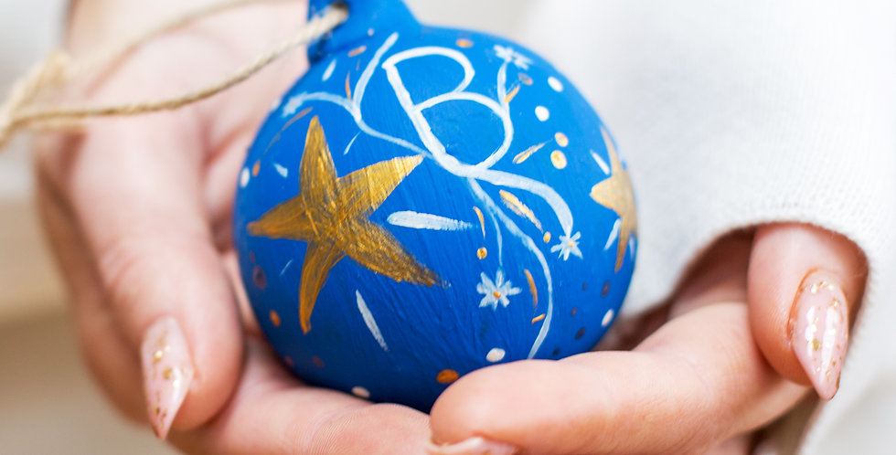 Starry Night Bauble