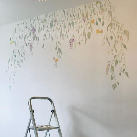 Nancy's Nursery Mural