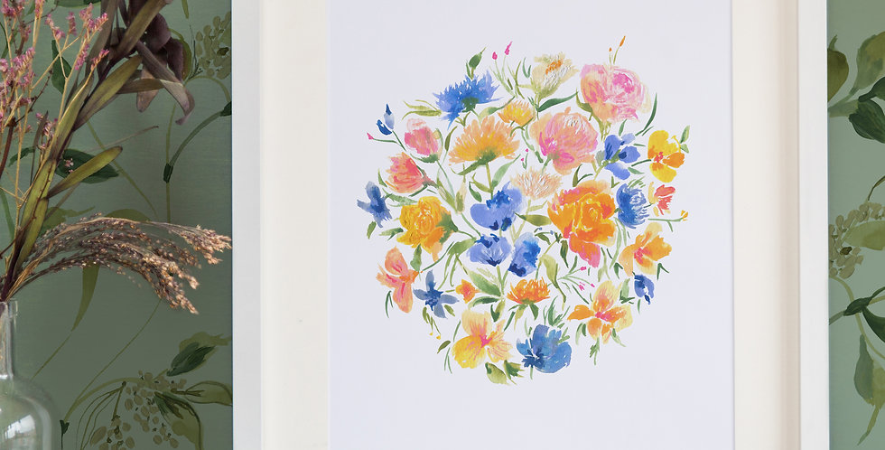 Wild Flower Circle