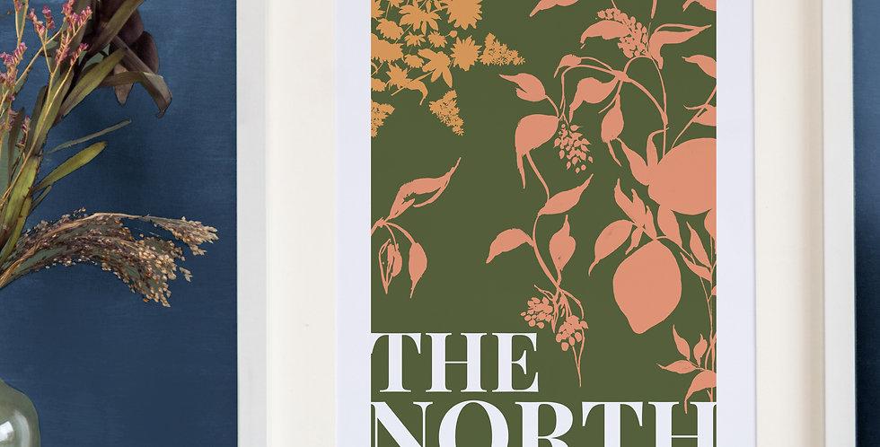 The North Print - Khaki