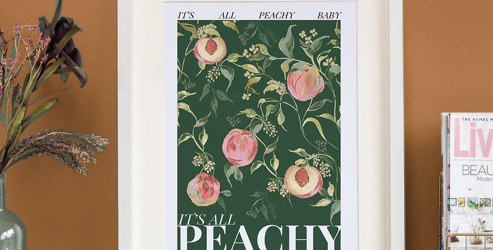 It's all Peachy - Deep Green Base