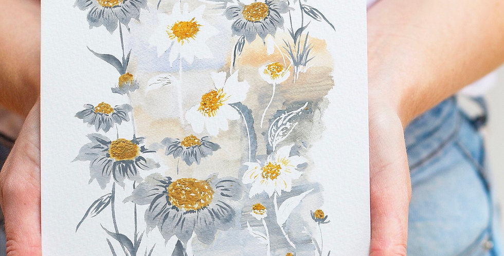 Stop and Smell the Daisies - Fine Art Floral