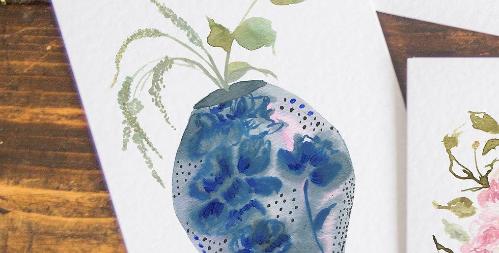 The Calm Vase - Postcard