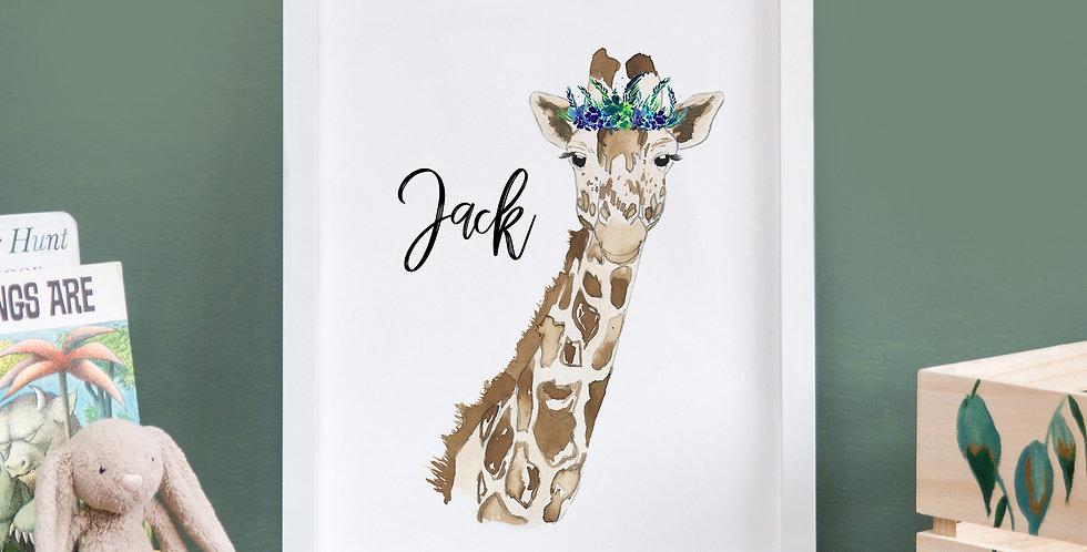 Leafy Crown Giraffe