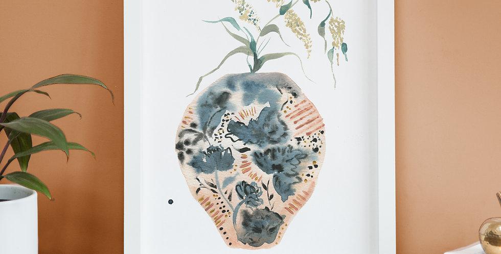 Strength - Vase Print