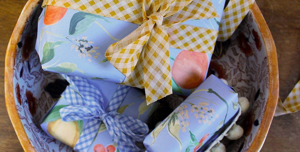 Oranges and Lemons Gift Wrap