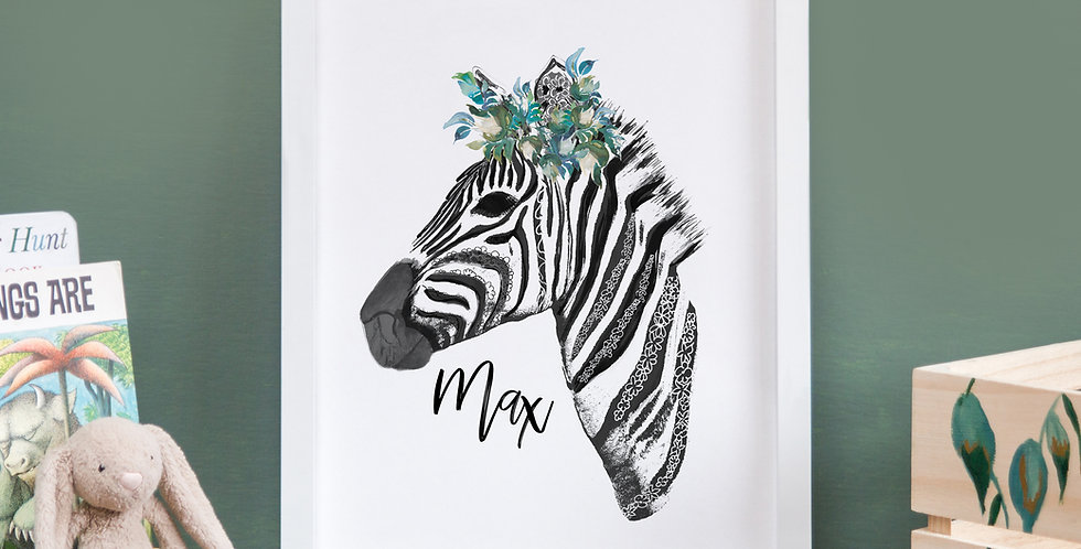 Leafy Crown Zebra