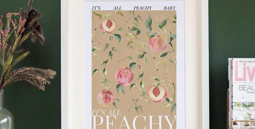 It's all Peachy -Beige Base