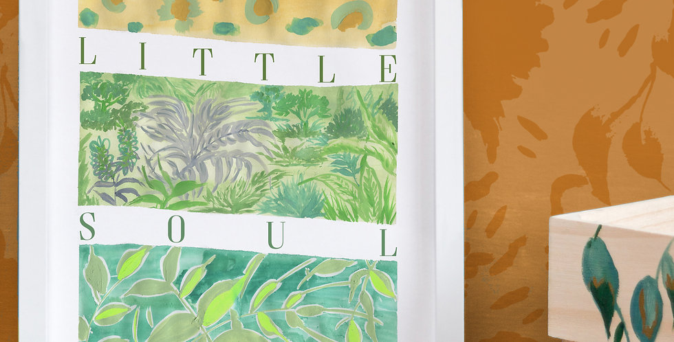 Happy Little Soul Jungle Print