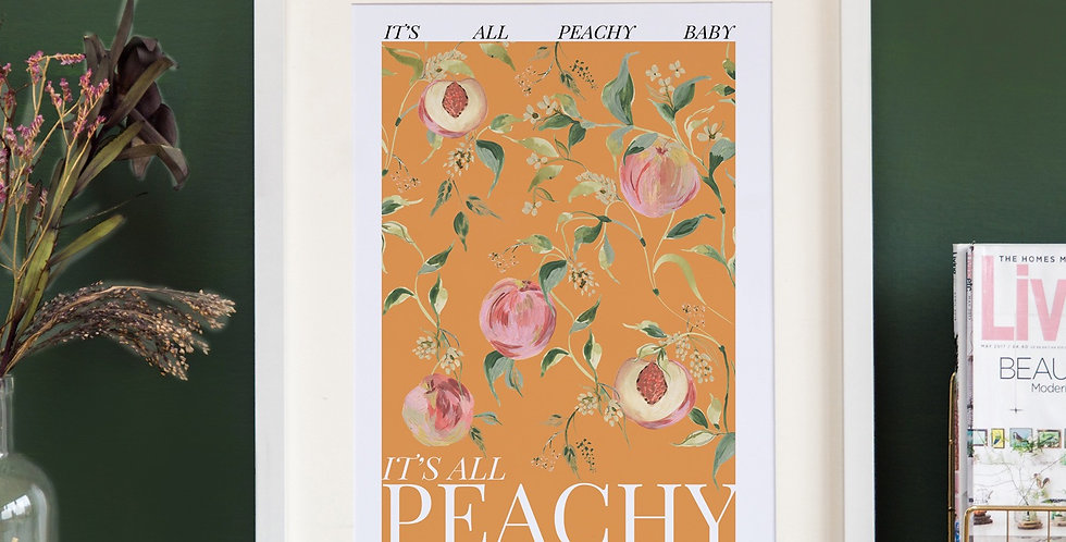 It's all Peachy - Warm Orange Base