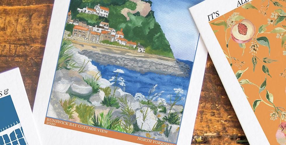 Runswick Bay Postcard