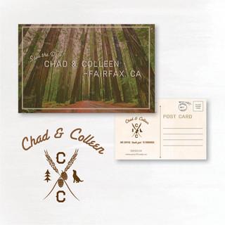 California - Save the Date Postcard