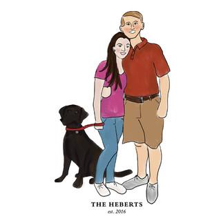 Hebert Family Portrait