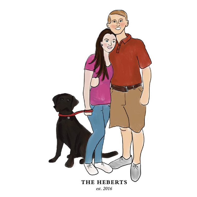 Hebert Family Portrait