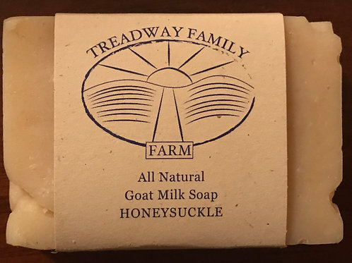 Honeysuckle Goat Milk Soap