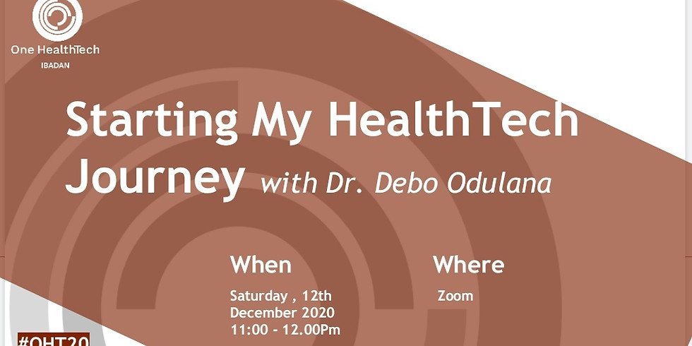 OHT Ibadan - Fireside Chat with Dr Debo Odulana