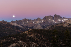 Ritter Range, Sierra Nevada Mountains.