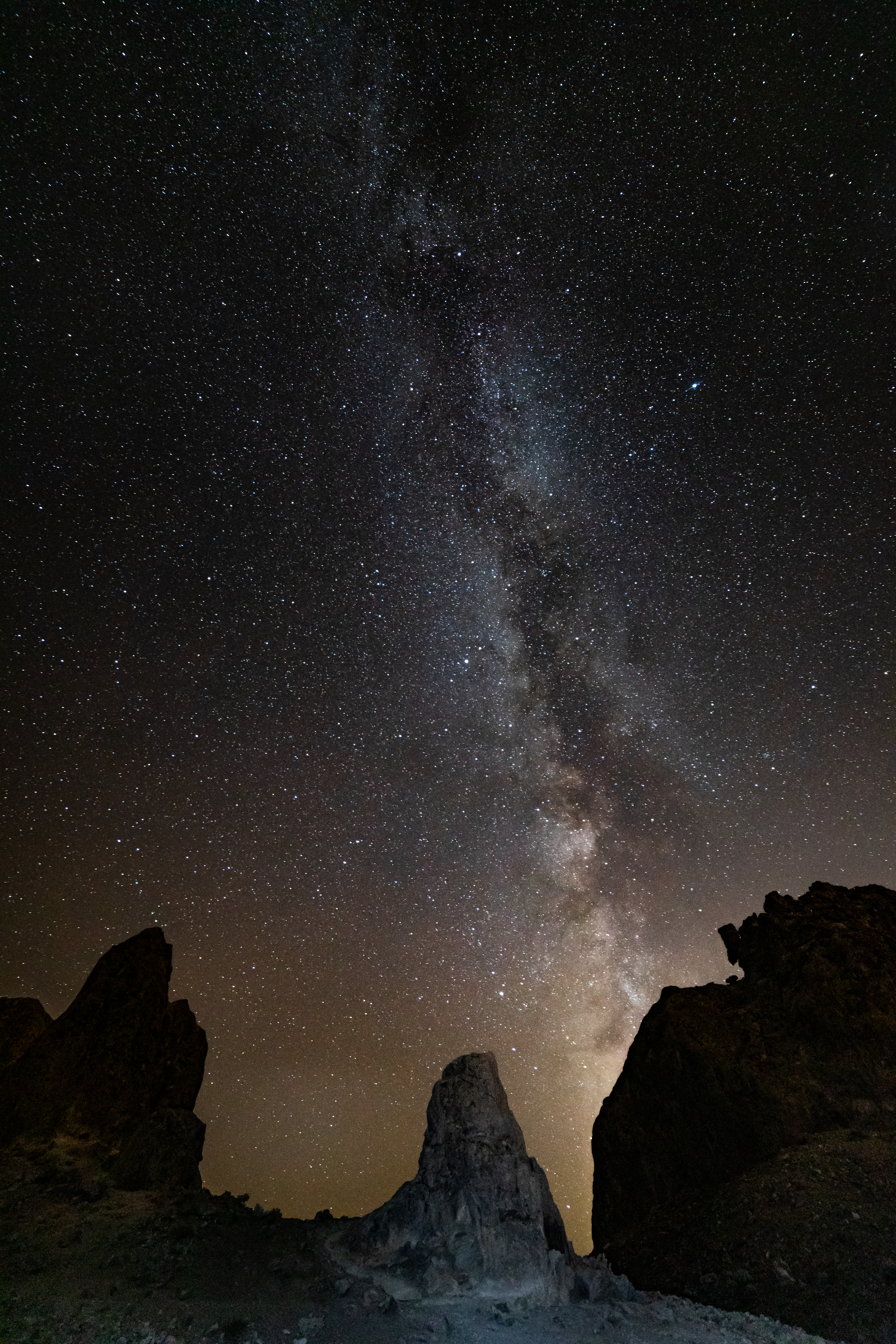 Milkyway, Trona Pinnacles