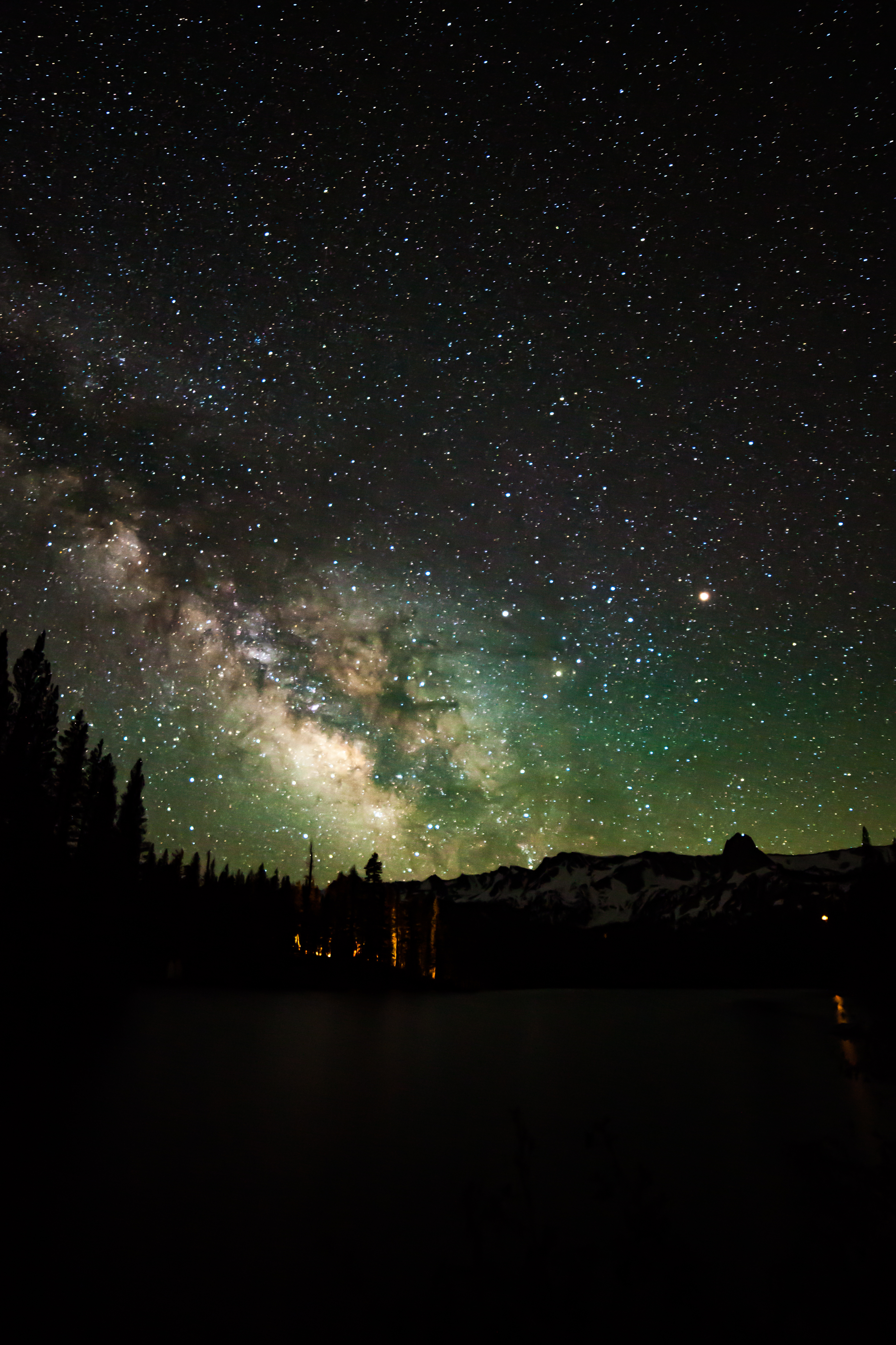 Milkyway, Twin Lakes Mammoth
