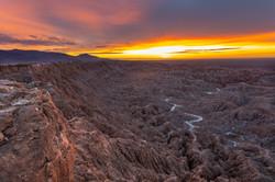 Sunrise, Borrego Badland