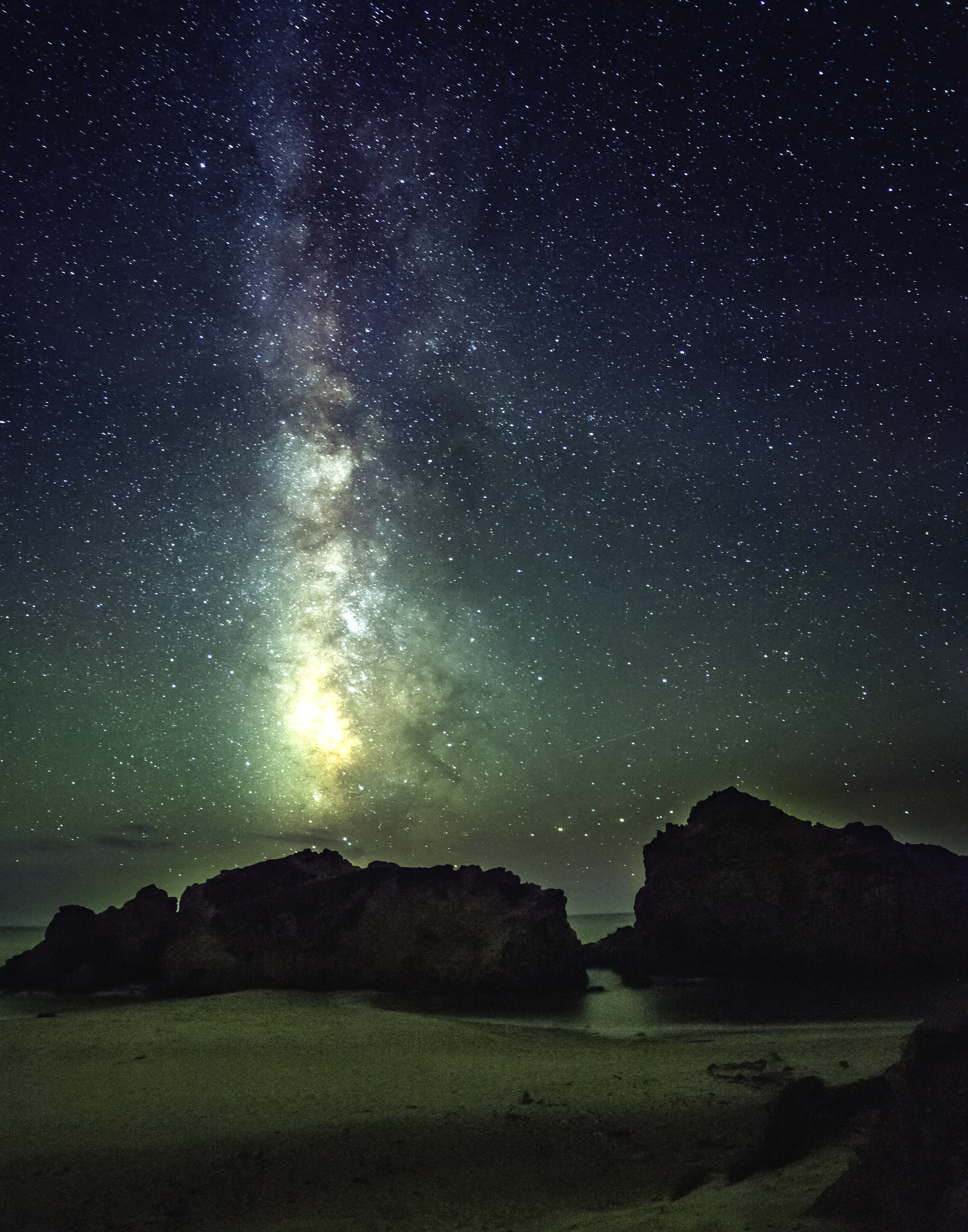 Milky Way, Big Sur